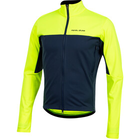 PEARL iZUMi Interval AmFIB Chaqueta Hombre, screaming yellow/navy